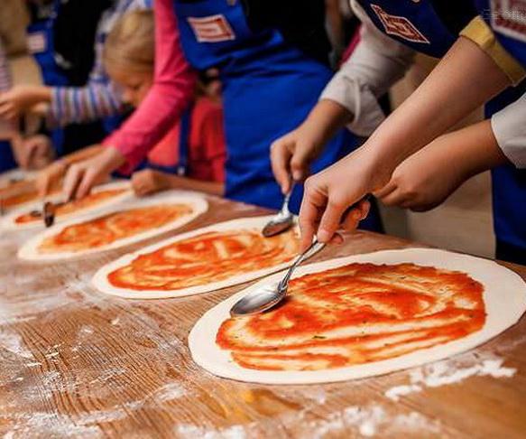 вечеринка в стиле пицца